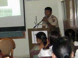 guest lecture on cyber crime guest- PI  Gautam patare