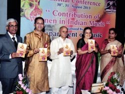 national conference on contribution of women in indian music 2013-14